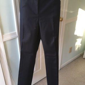 NWT Women navy pants size 2